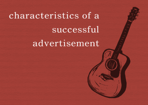 characteristics of advertising