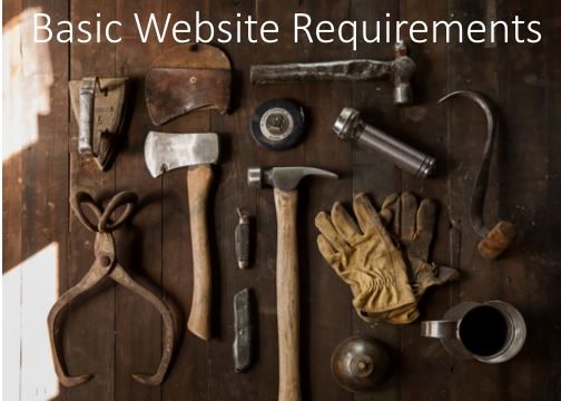 Basic-Website-Requirements